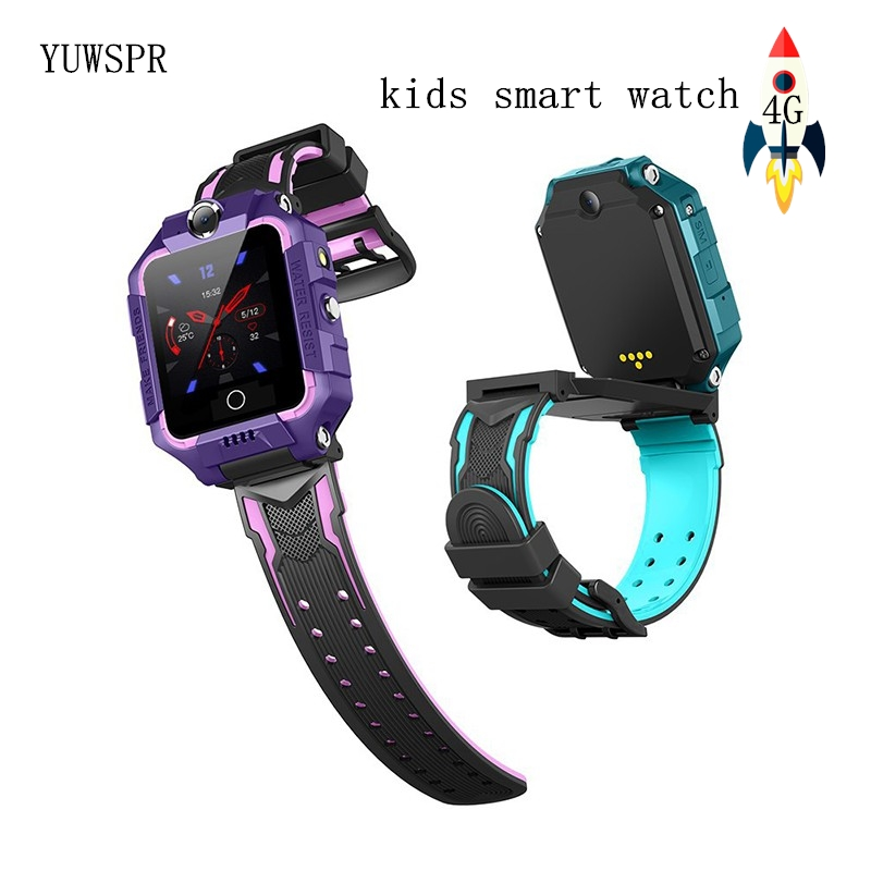 4G Children Smart Watch Kids GPS Position Dual Cameras Video Call Bracelet Sports Waterproof Kids Watch Safety Wristband T10 1pc