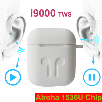 i9000 tws Pop Up Wireless Charging GPS Location for IOS Bluetooth Name Change Earbuds Earphone pk W1 H1 Chip i200 i90000 TWS pro
