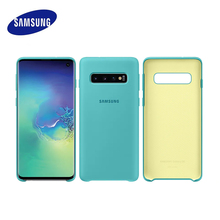 Samsung Original (OFFIZIELLE PRODUKT) Samsung S10 Fall S10 Plus S10e Für Samsung Galaxy S10 Abdeckung grid Silikon fall