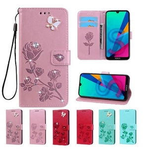 Flip PU Leather case For Samsung Galaxy A01 Core M01 Core back case on For Samsung M01 A 01 A01Core Back Cover
