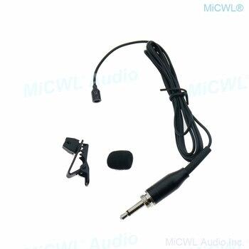 """3.5 millimetri 1/8 """"Martinetti Blocco Omnidirezionale Clip di Legame Lavalier Microfono per BeltPack Trasmettitore Calcolatore Del PC Del Computer"""