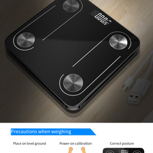 Bathroom Scales Balance Weights Wifi Floor Digital Bluetooth Pesas-Person Body Electronics