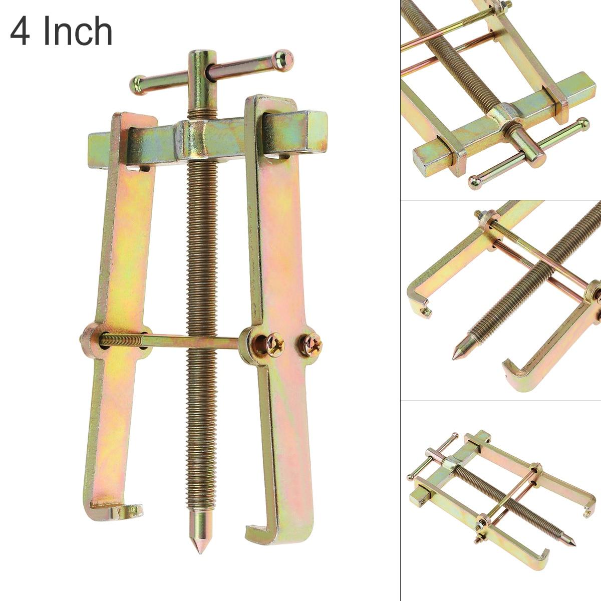 Dispositivo de elevación independiente Extractor de dos garras de 4 pulgadas, rodamiento multiusos, Rama para herramientas manuales mecánicas automáticas