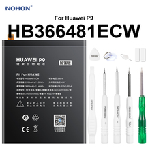 NOHON telefon bateria do huawei P9 G9 Lite G9 Honor 8 5c 3000mAh wysoka rzeczywista pojemność wymiana baterie polimerowe HB366481ECW tanie tanio 2801 mAh-3500 mAh Kompatybilny ROHS CN (pochodzenie) HB366481ECW Phone Battery For Huawei P9 G9 G9 Lite Honor 8 Honor 5c