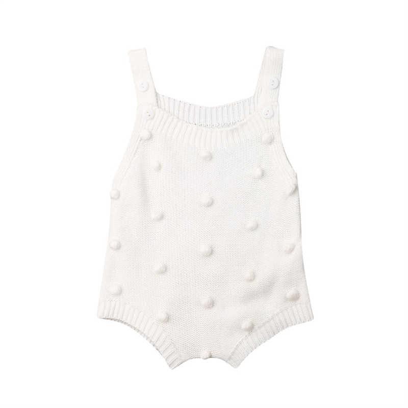 ทารกแรกเกิดเด็กทารกเด็กผู้หญิงทารก Romper Jumpsuit ชุดบอดี้สูทเสื้อผ้าชุด