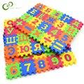 60PCS Baby Russische Alphabet Anzahl Puzzle Matte Baby Spielen Matte Boden Puzzle Matte EVA Kinder Schaum Teppich Boden Spielen matten GYH