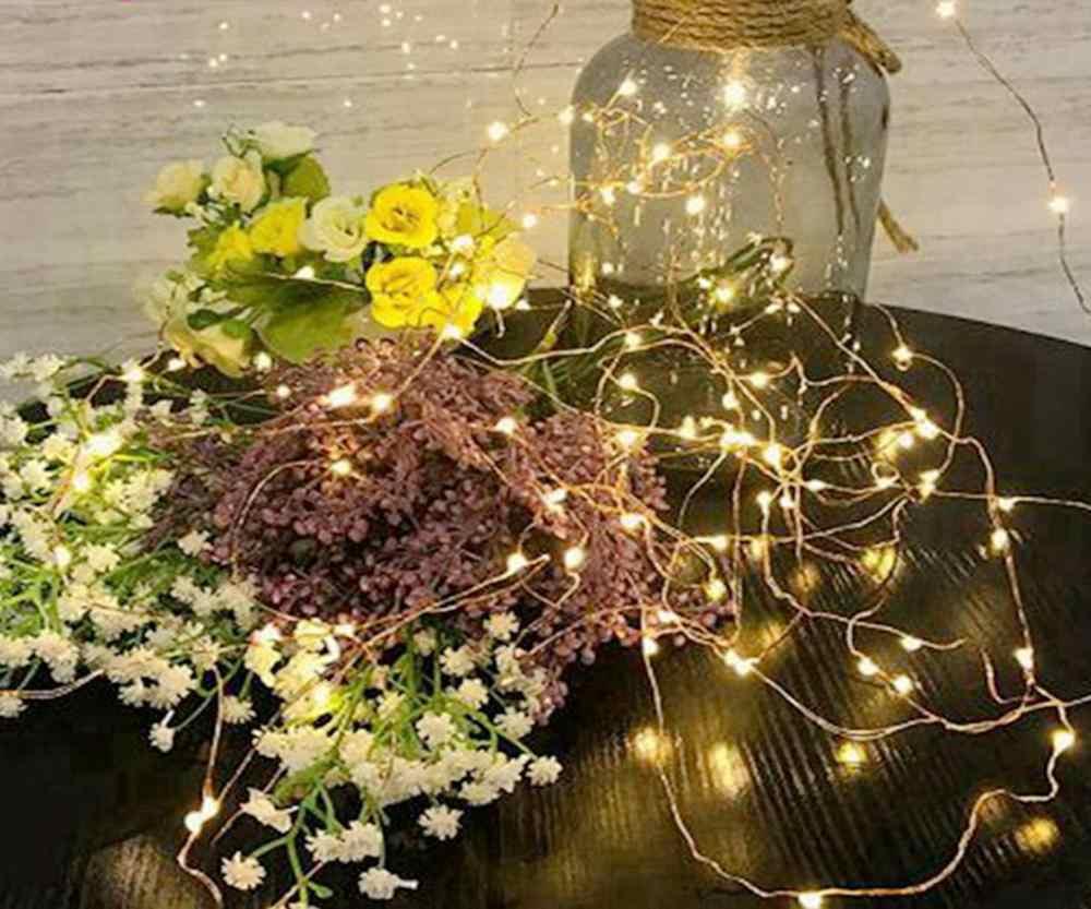 Girlanda girlanda żarówkowa led świeca wróżka 20 LEDS żyrandol lampa falsh latarnia dekoracje na świąteczne przyjęcie wewnątrz na zewnątrz