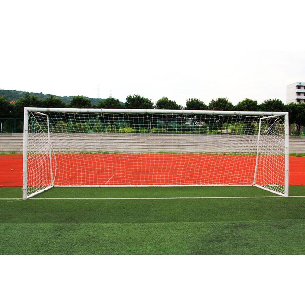 New Full Size Football Net For Soccer Goal Post Junior Sports Training 5.5m X 2.1m 3.2m X 2m  7.5mx2.5m Football Net Soccer Net