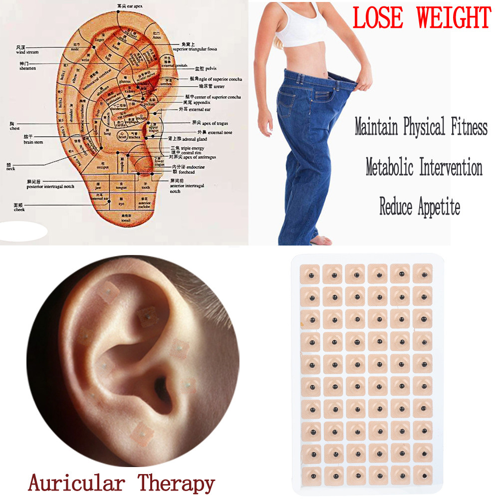 Ear Massage 300pcs Therapy Ear Patch Auricular Auriculotherapy Acupuncture Seed Relaxation Ears Stickers