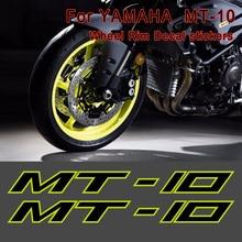 Motorcycle Sticker For YAMAHA MT-10 MT10 MT 10 Wheels Rims Decal Tank Body Shell Helmet Printing Film Moto Wheel