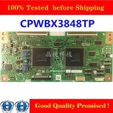 3848TP Tcon Board for SHATP TV Original TCON Board CPWBX3848TP Test Good Logic Board TV Card CPWBX 3848TP Equipment for Business