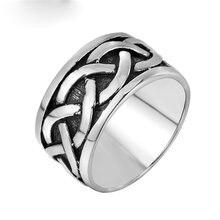 Кольцо спиральное из полированной нержавеющей стали для мужчин