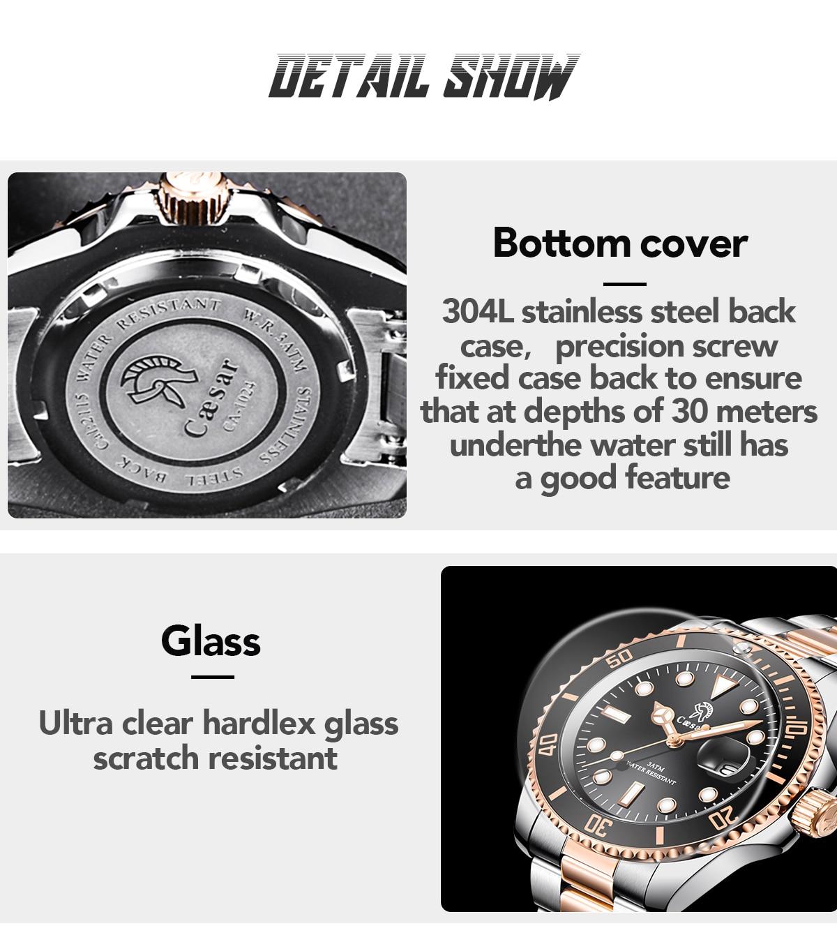 Hf3f4afa9f502474fb52b0ce5a02e54abH Rose Gold caesar  Top Brand Luxury Watches