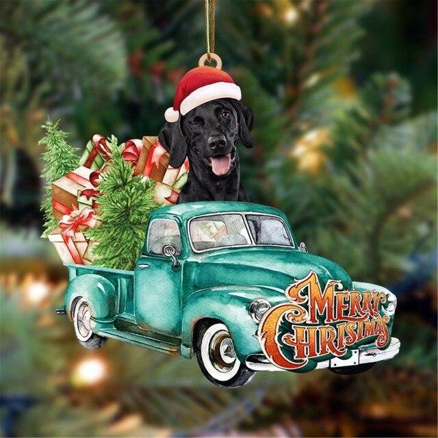 Dog Lovely Christmas Tree Gift 4