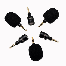 3.5mm Plug and Play Metal Mic Recording Microphone for Mobile Phone Unidirectional Metal Mic Laptop PC Microphone