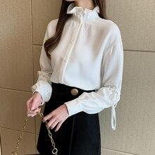 autumn long Sleeve Top Female Turtleneck Women Blouse Shirt