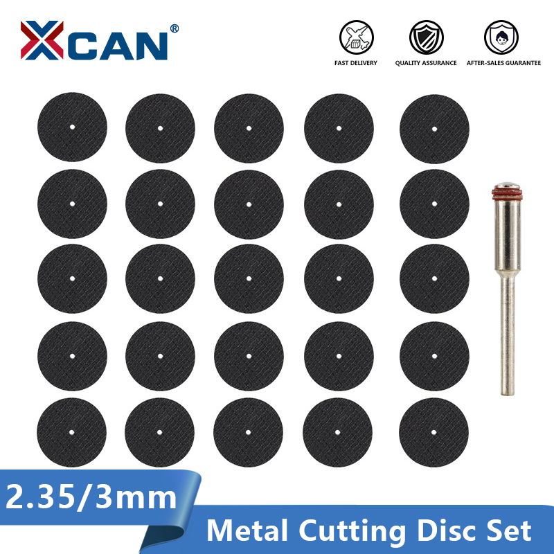 XCAN Metal Cutting Disc 2.35/3.0mm Mandrel Rotary Cut Off Saw Mini Circular Saw Blade