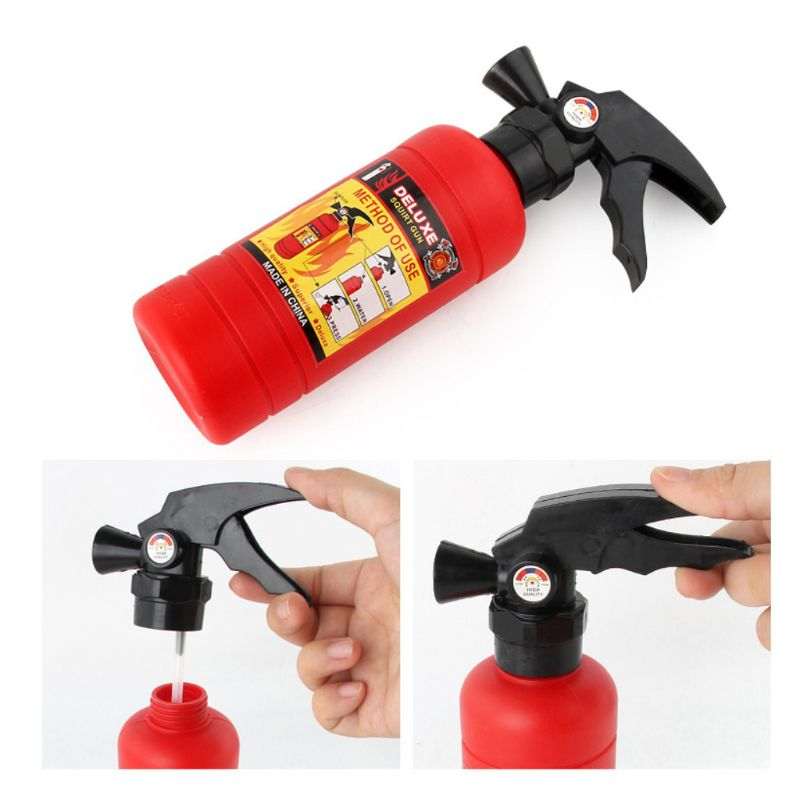 4pcs/set Children Firefighter Fireman Cosplay Toys Kit Fire Extinguisher Intercom Axe Wrench Gifts For Kids 24BE