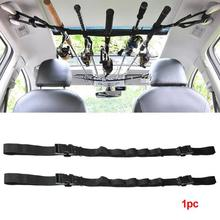 Fishing Rod Saver Vehicle Carrier Band Holder Belt Strap Booms Tie Fasten VRC Tools Accessories