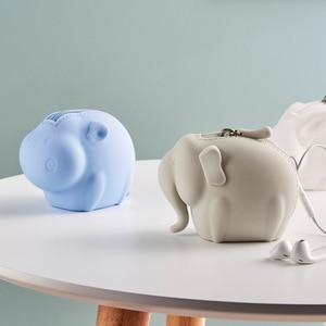 Image 4 - Youpin Jordan&Judy Silicone Coin Purse Cartoon Animal Series Storage Bag Decoration Portable Doll Coin Purse