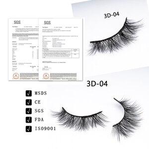 Image 4 - DORADOSUN 5 Paar Voller Streifen Wimpern Für Party Faux Nerz Natürliche Wimpern Für Schönheit Salon Weichen 3D