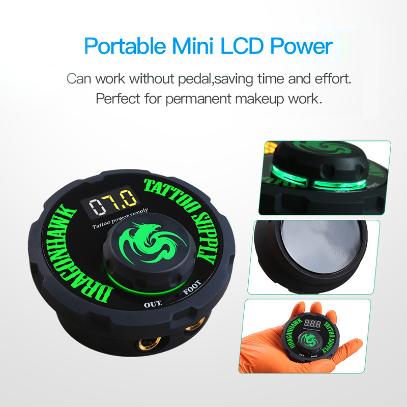 Professional Tattoo Power Mini Box Digital For Tattoo Machine Power Transfer Box Supply