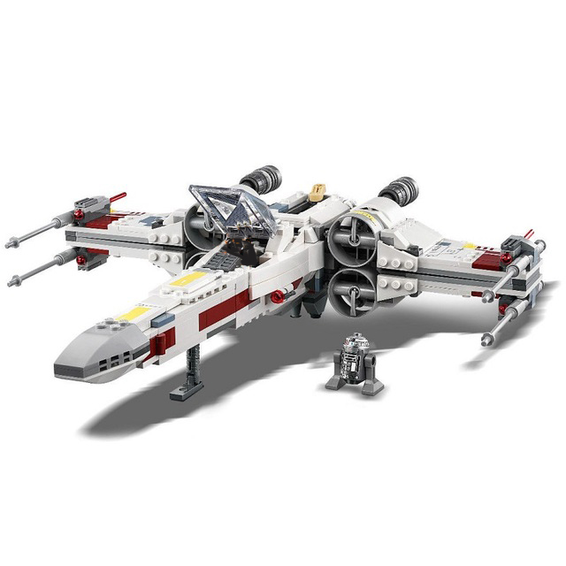 New Star Wars Series X-Wing Starfighters Compatible Legoingly StarWars 75218 75102 Building Blocks Bricks Toys Christmas Gifts