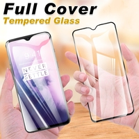 Protector de pantalla de vidrio templado para OnePlus One Plus 9R 9 8T 7T 7 6T 6 5T 5 3T 3 película protectora completa de vidrio