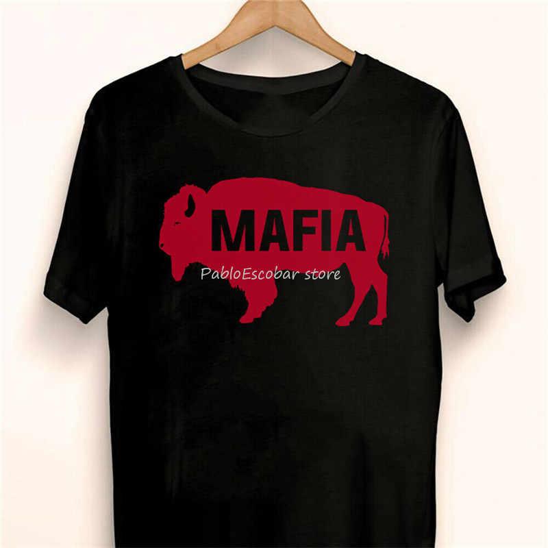Modern Buffalo Mafia Black T Shirt , Gift For Menwomen Harajuku Hip Hop Tee Shirt male brand tshirt summer plus size tee-shirt
