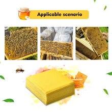 10 шт пчелиный воск лист в виде пчелиных сот с чистого воска