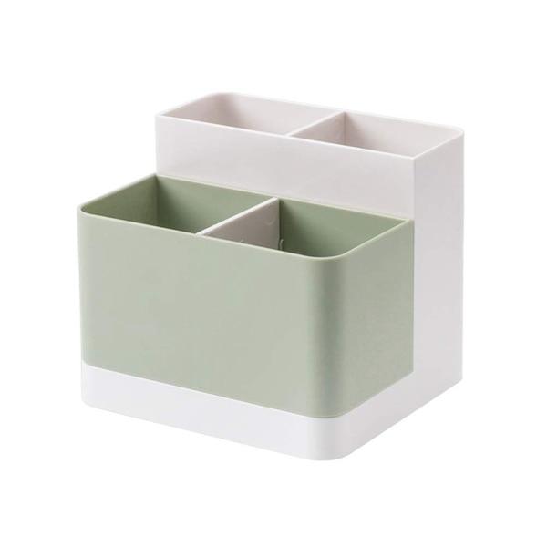 Storage Box,Desktop Storage Organizer Pencil Case Card Holder Box Container For Desk, Office Supplies, Vanity Table