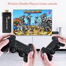 Ультратонкая Игровая приставка 4K HD Doual Rocker 2,4G, Беспроводная игровая консоль 3000, Ретро игры, ТВ, Игровая приставка, донгл, подарок для детей