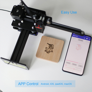 Image 4 - NEJE Master 2 Mini CNC Laser Engraver High Speed Small Engraving Carving Machine Smart Wireless APP Control DIY Laser Logo Mark