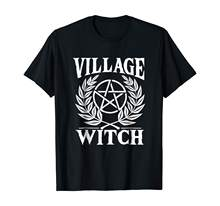 Pentagram Shirt - Village Witch TShirt Gift Women Men(China)