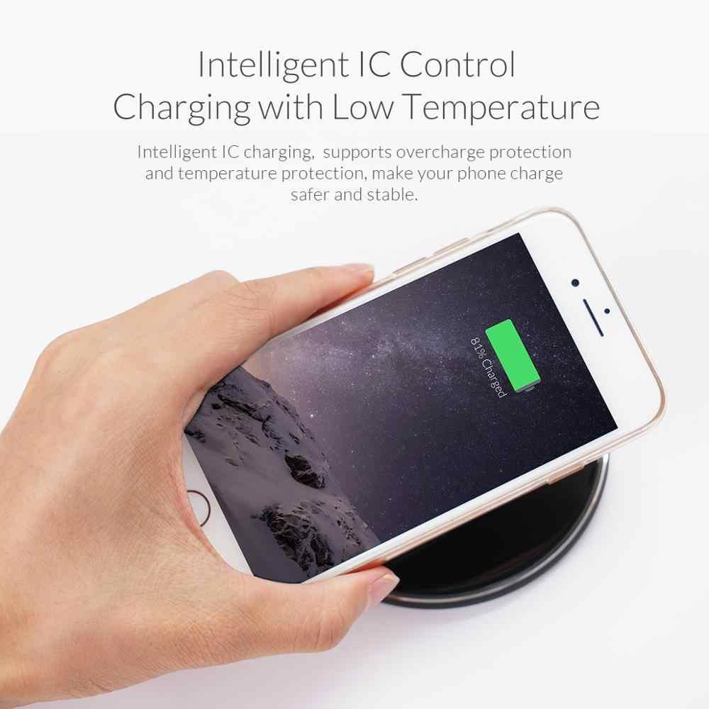 ORICO QI receptor de cargador inalámbrico para iPhone receptor de carga inalámbrico para teléfono Micro USB tipo c