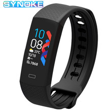 цена на Smart Band Fitness Tracker Body Temperature Measurement Pedometer Sport Bracelet Heart Rate Blood Pressure Smart Bracelet
