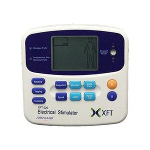 Image 5 - Dual Tens Machine Digital Lage Frequentie Therapeutische Elektrische Spierstimulator Tientallen Stimulator Met Lcd scherm Acupunctuur Pen