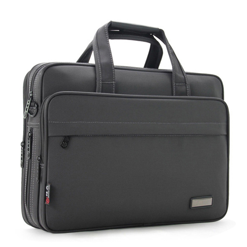 2020 New Business Laptop Shoulder Bag 15 Inch Waterproof Nylon Notebook Messenger HandBag For Men 15 Laptop Bag