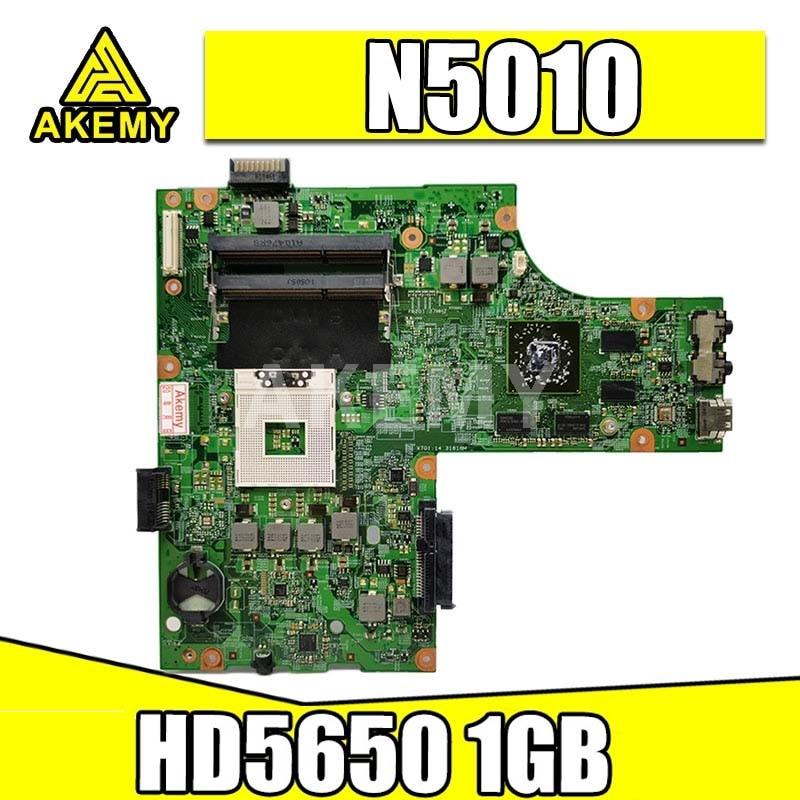 CN-052F31 052F31 52F31 48.4HH01.011 для For DELL inspiron 15R N5010 материнская плата для ноутбука HM57 DDR3 HD5650 1 ГБ Бесплатный процессор