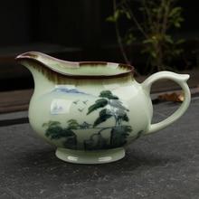 [GRANDNESS] Фарфор с ручной росписью китайская чашка для чая Cha hai чайный набор кунг-фу чашка чайная посуда Кунг Фу чайная ярмарка чашка 150 мл
