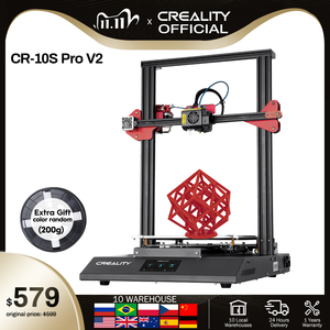 CREALITY 3D Auto Leveling CR-10S Pro V2 Printer Touch LCD Double Extrusion Resume Printing Filament Detection Funtion