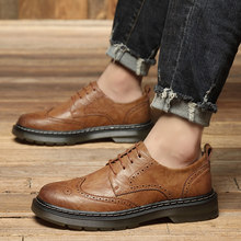 Leather Shoes Men fashion Casual Penny oxfords for Men Breathable lace up Flats Mens Driving Shoes Designer Man Moccasins