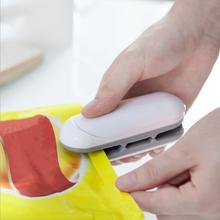 HEIßER beste Tragbare Mini Abdichtung Haushalts Maschine Wärme Sealer Capper Lebensmittel Schoner Für Kunststoff Taschen Paket Mini Gadgets