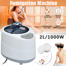 2.0L Sauna Generator For Sauna Spa Tent Body Therapy Fumigation Machine Home Steamer Therapy Suitable For Kitchen EU/US Plug