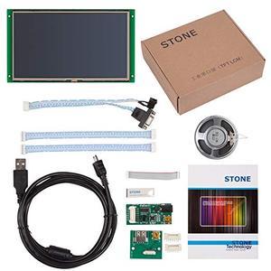 Image 5 - 10.1 Cal HMI moduł wyświetlacza LCD z ekranem dotykowym i RS232 RS485 TTL UART Port STVI101WT 01