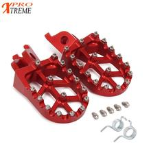 Motorcycle CNC FootRest Footpegs Pedals For HONDA CR125 250R CRF250R CRF250X CRF450R CRF450RX CRF450X  CRF250L M 2020 New