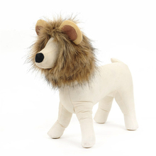 Funny Cute Pet Lion Mane Costume Autumn Winter Wig Cap Hat for Cat Halloween Xmas Cosplay Clothes Fancy Dress with Ears S-L