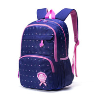 Jiang Hao Young STUDENT'S New Style School Bag Women's 2 5 Grade Burden Relieving Waterproof Large Volume Children Princess Back