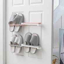 Rack-Holder Shoes Organizer Shoe-Racks Wall-Mount Slippers Hanging-Shelf 3-In-1