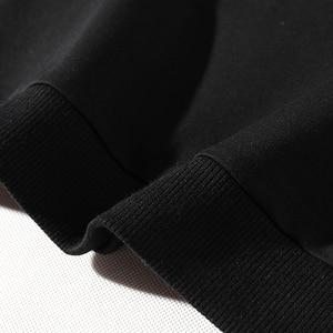 Image 5 - プレイボーイ新ファッションスタイルトレーナー男性カジュアルストリートパーカー手紙プリントパーカー黒スウェットプルオーバー男性
